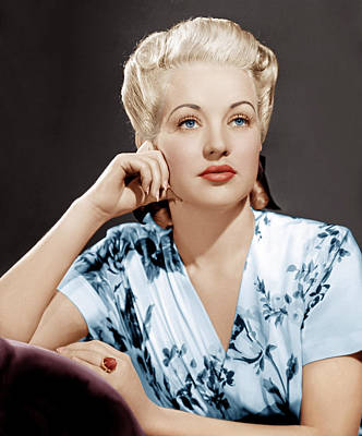 Betty Grable, Ca. 1940s Poster