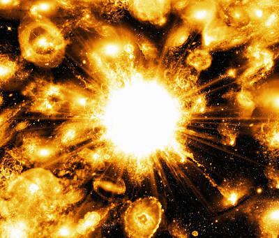 Big Bang, Conceptual Artwork Poster