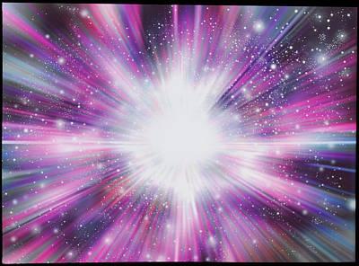 Big Bang Poster by Mehau Kulyk
