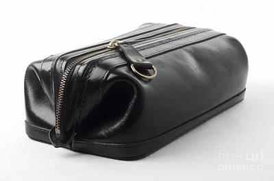Black Leather Bag Poster by Blink Images