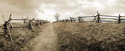 Bloody Lane Antietam Poster