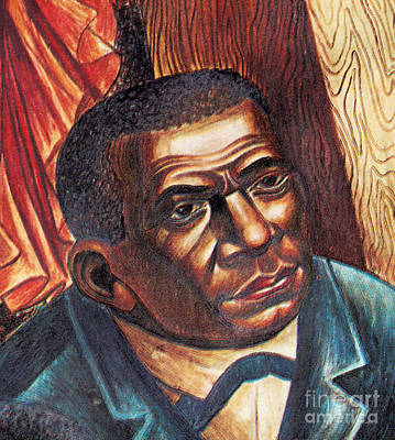 Booker T. Washington, African-american Poster by Photo Researchers