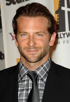 Bradley Cooper At Arrivals For The Poster by Everett