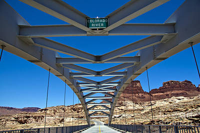 Bridge Across Colorado Poster by Scotts Scapes