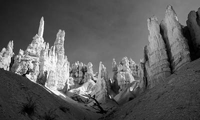 Poster featuring the photograph Bryce Canyon Infrared by Mike Irwin