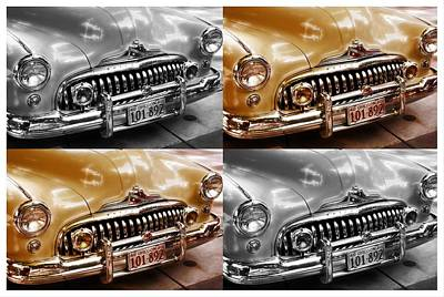 Buick Road Master Poster by Cathie Tyler
