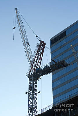 Building Crane Poster by Blink Images