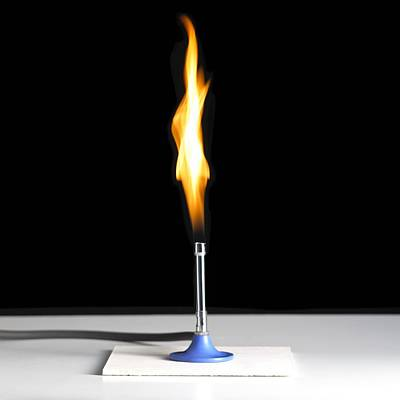 Bunsen Burner Flame Poster by