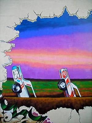 Cadillac Ranch - Montreal Poster
