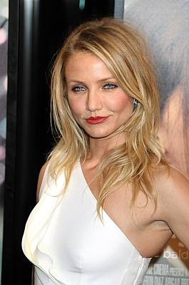 Cameron Diaz At Arrivals For My Sisters Poster by Everett