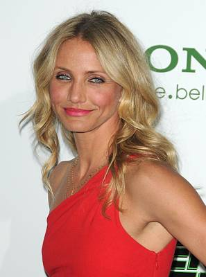 Cameron Diaz At Arrivals For The Green Poster