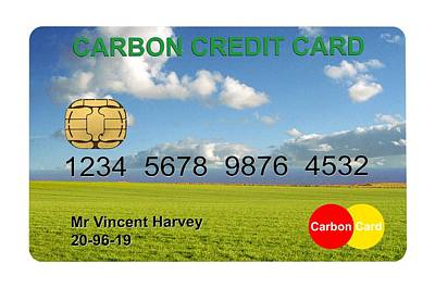 Carbon Credits Poster
