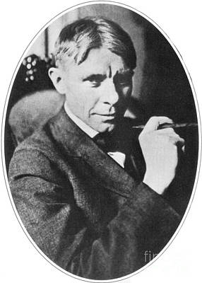 Carl Sandburg, American Poet Poster by Photo Researchers