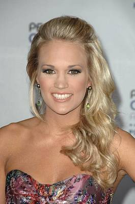 Carrie Underwood At Arrivals Poster