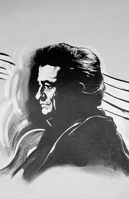 Cash In Black And White Poster