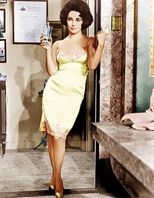 Cat On A Hot Tin Roof, Elizabeth Poster