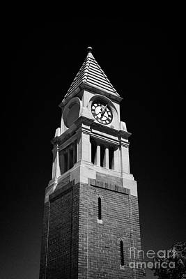 Cenotaph Clock Tower Niagara-on-the-lake Ontario Canada Poster by Joe Fox