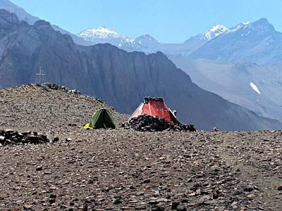 Cerro El Pintor Chile Poster