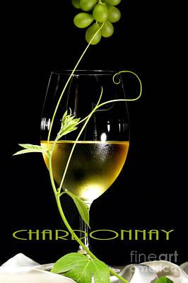 Chardonnay Poster by Jose Luis Reyes