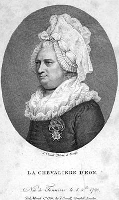 Charles Deon De Beaumont Poster