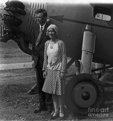 Charles Lindbergh, American Aviator Poster by Photo Researchers