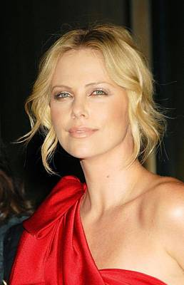Charlize Theron At Arrivals Poster