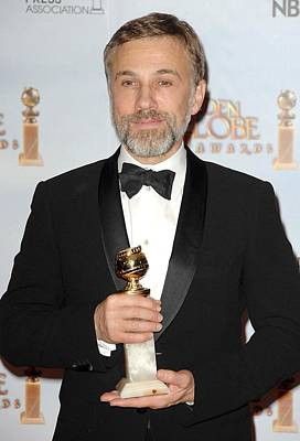 Christoph Waltz In The Press Room Poster