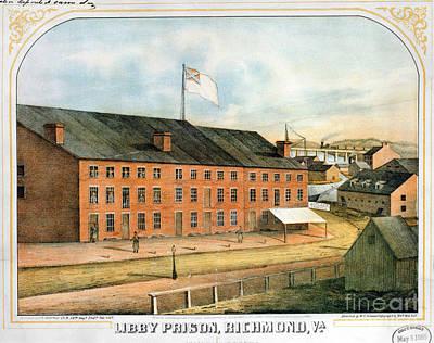 Civil War: Libby Prison Poster by Granger