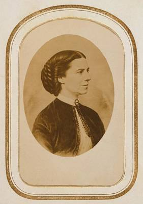 Clara Barton 1821-1912, At The End Poster by Everett