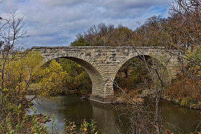 Clement Stone Arch Bridge Poster by Alan Hutchins