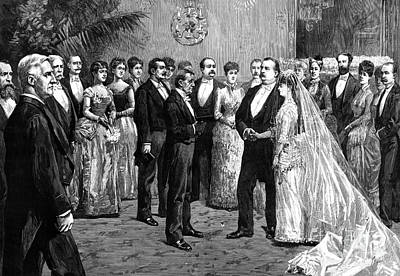 Cleveland Wedding, 1886 Poster by Granger