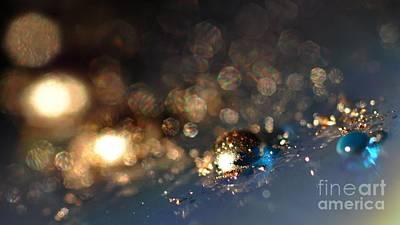 Color Drops Poster by Sylvie Leandre