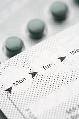 Contraceptive Pills Poster by Jon Stokes
