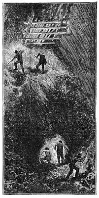 Cornish Tin Mining, 19th Century Poster by