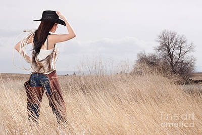 Country Girl Poster by Cindy Singleton