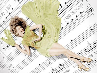 Cover Girl, Rita Hayworth, 1944 Poster