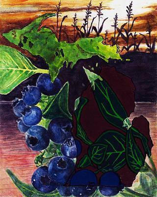 Crops Poster by Trisha Moran