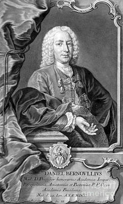 Daniel Bernoulli, Swiss Mathematician Poster by Science Source