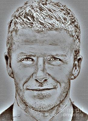 David Beckham In 2009 Poster
