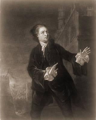 David Garrick 1717-1779, English Actor Poster