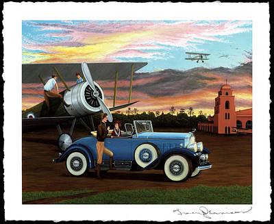 Dawn Flight Poster by Tracy Dennison
