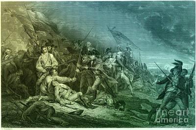 Death Of General Warren, 1775 Poster