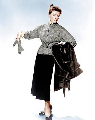 Desk Set, Katharine Hepburn, 1957 Poster