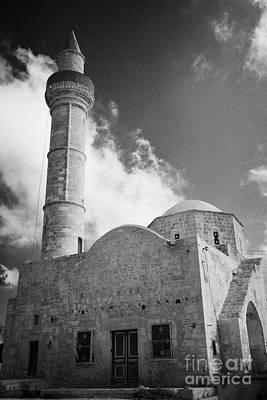Djami Kabir Mosque In Paphos Republic Of Cyprus Europe Poster