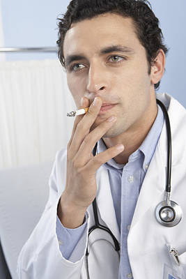 Doctor Smoking Poster