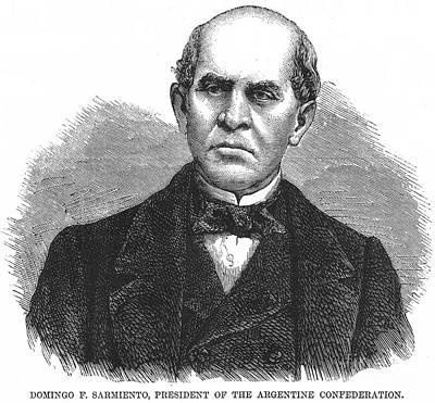 Domingo Sarmiento Poster by Granger