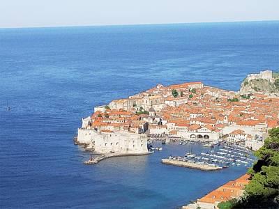 Dubrovnik Former Yugoslavia Croatia Poster