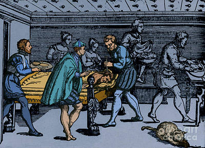 Earliest Depiction Of Craniotomy Poster