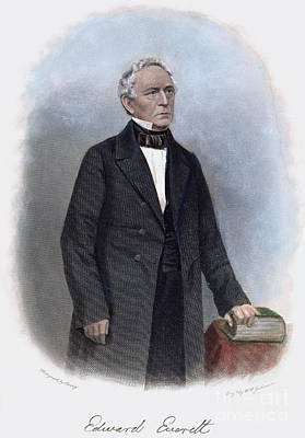Edward Everett (1794-1865) Poster by Granger