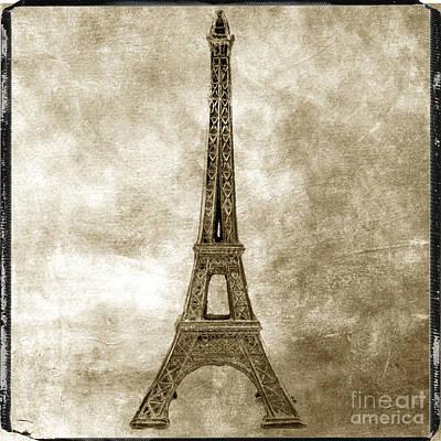 Eiffel Tower. Paris Poster by Bernard Jaubert
